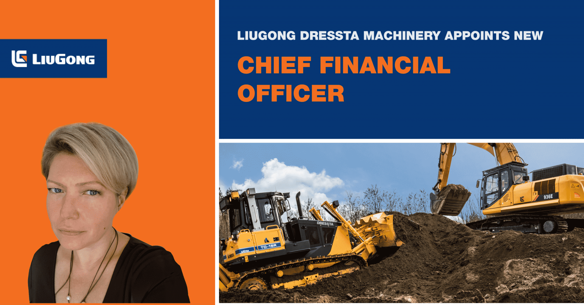 LiuGong Dressta Machinery announces appointment of New Chief Financial Officer